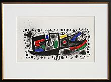 Joan Miro, Joan Miro und Katalonien, Lithograph