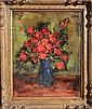 Jan De Ruth, Roses, Oil Painting