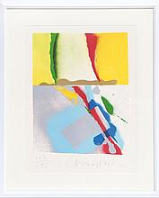 John Chamberlain, Flashback III, Lithograph
