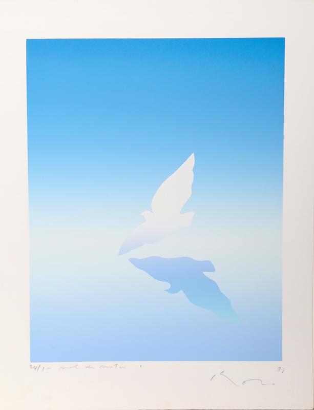 Kozo Inoue, Dove, Serigraph