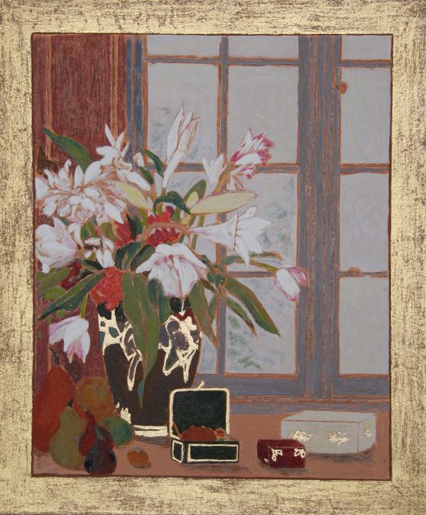 Ellen Gunn, Winter Light I, Silkscreen