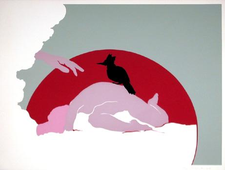 Daphne Mumford, Winter I, Serigraph