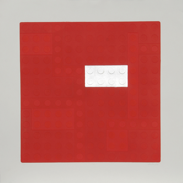 Matteo Negri, Lego (Red), Aquatint Etching