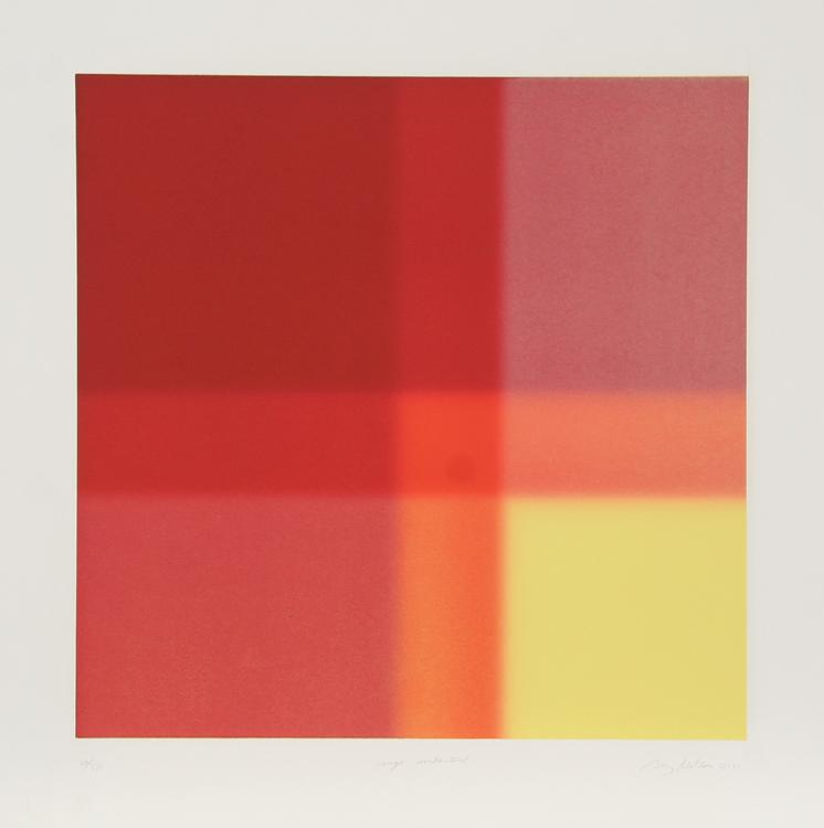 Barry Nelson, Rouge Unchartered, Aquatint Etching
