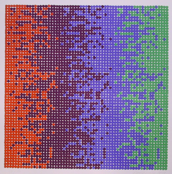 David Roth, Op-Art Geometric Serigraph