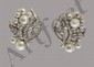 Seaman Schepps, White Gold, Diamond & Pearl Earrings, Seaman Schepps, Click for value