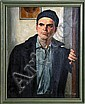 Allyn Cox, Portrait of a Young Man, Oil Painting, Allyn Cox, Click for value