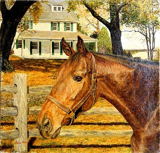 Helene Alison, Nani, Oil Painting