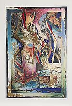 Robert Kostuck, Hands of Fate #1, Embossed Silkscreen