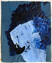 Aaron Levy, Abstract Blue Painting