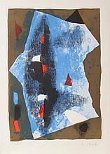 Edo Murtic, Svecanost Jutra, Lithograph