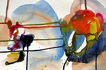 Jenik Cook, Abstract Watercolor
