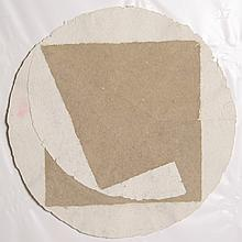 William Fares, Circle and Square, Shapes on Handmade Paper