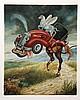 Israel Rubinstein, Half Horsepower, Serigraph, Israel Rubinstein, Click for value