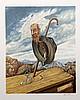 Israel Rubinstein, Old Age, Serigraph, Israel Rubinstein, Click for value