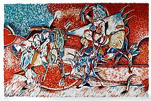 Saul Kaminer, The Photographer, Lithograph