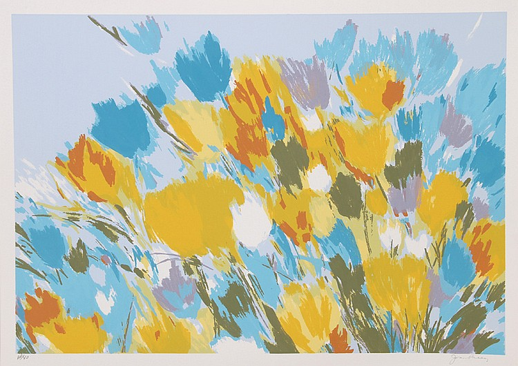 Joan Paley, Early Spring, Lithograph