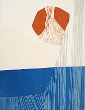 Gilou Brillant, Abstract Aquatint Etching with Carborundum