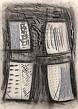 Porfirio Di Donna, Untitled, Graphite & Pastel Drawing