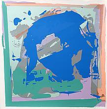 Darryl Hughto, Blue Heron, Silkscreen