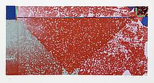Frank Roth, Untitled - Red Triangle I, Serigraph