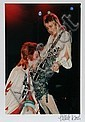 Mick Rock, David Bowie and Mick Ronson, Photograph, Mick Rock, Click for value
