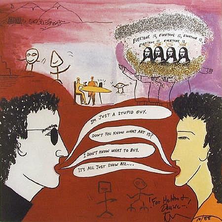 Jeff Gordon, Everyone is an Artist, Lithograph