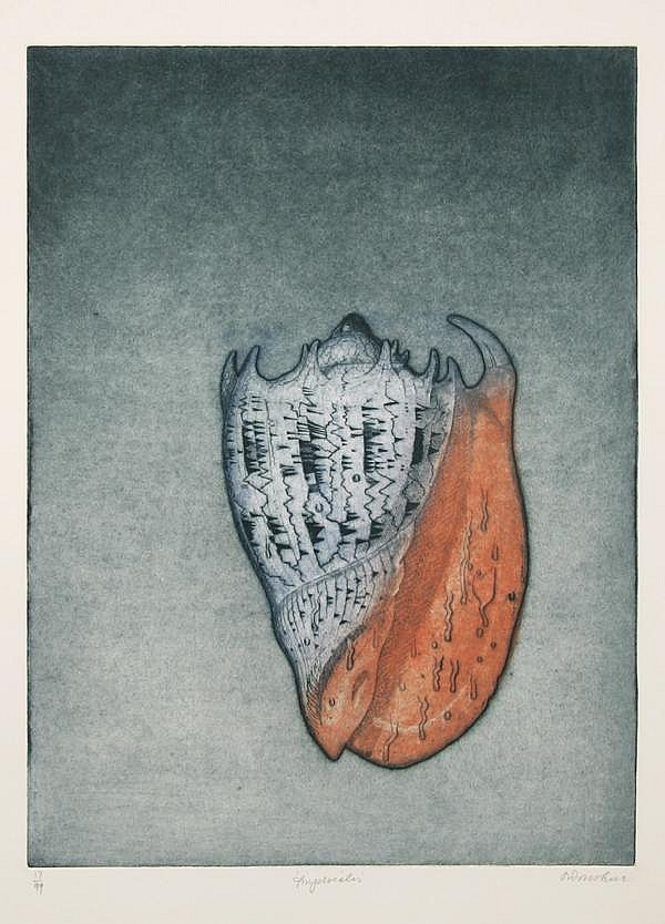 Tighe O'Donoghue, Imperiales, Aquatint Etching