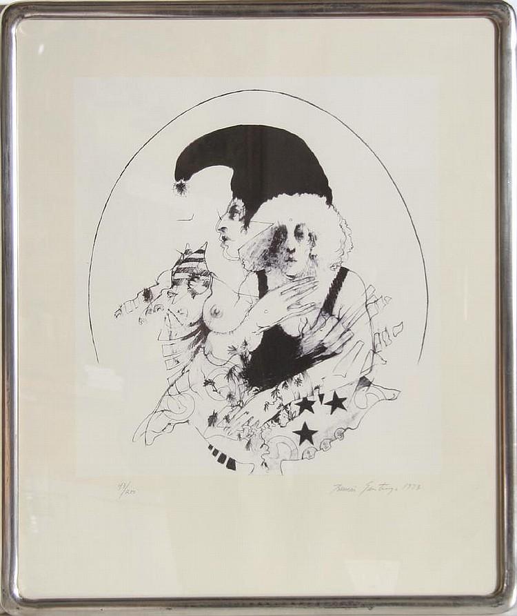 Ramon Santiago, Memories, Serigraph