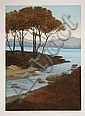 John McNulty, Highland Trees, Aquatint Etching, John McNulty, Click for value