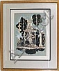 Peter Saari, Building Fragment #5, Lithograph, Peter H Saari, Click for value