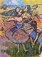 Wayne Ensrud, Homage to Degas, Lithograph, Wayne Ensrud, Click for value