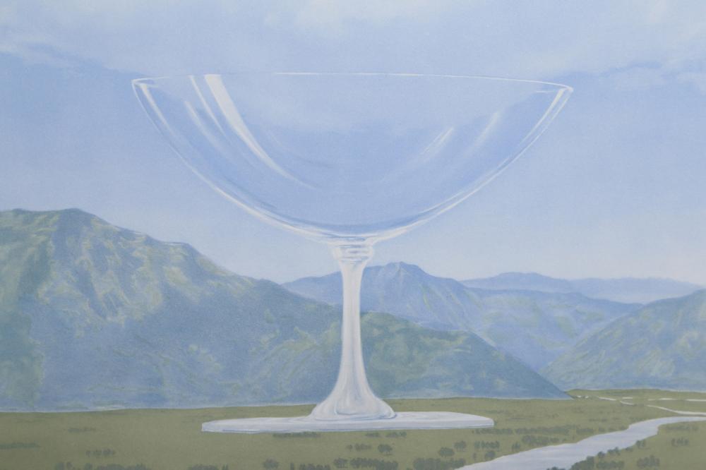 Rene Magritte, La Corde Sensible, Lithograph