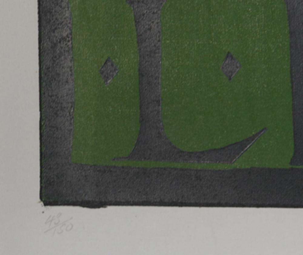 Leonard Baskin, L Baets 56, Woodcut