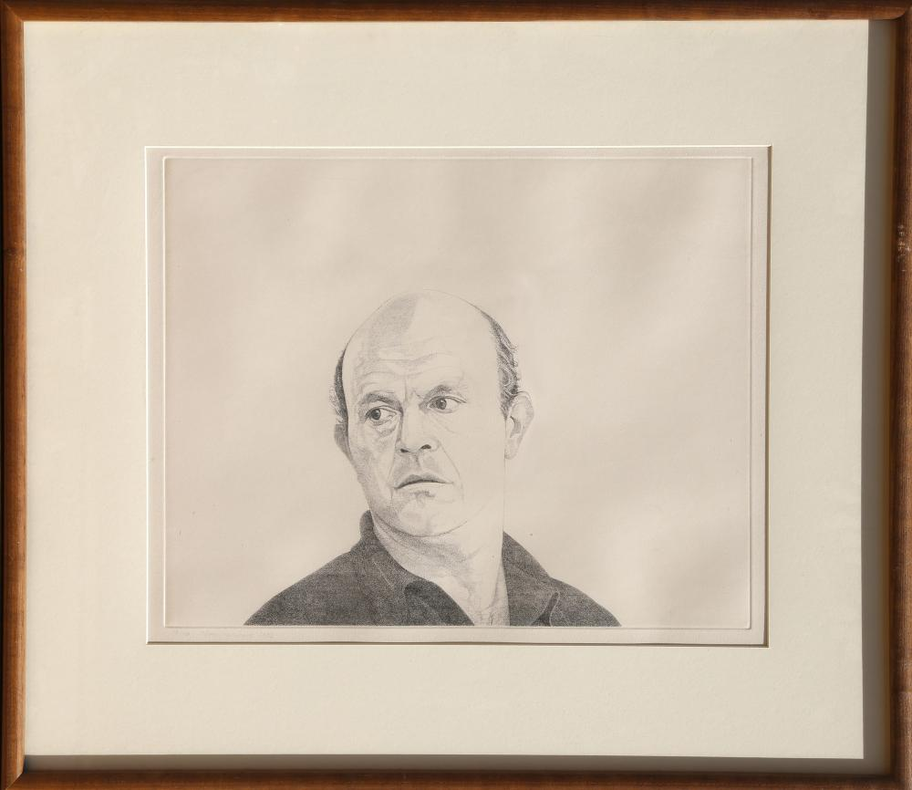 Theo Wujcik, Jim Dine from the Mentors Series, Etching