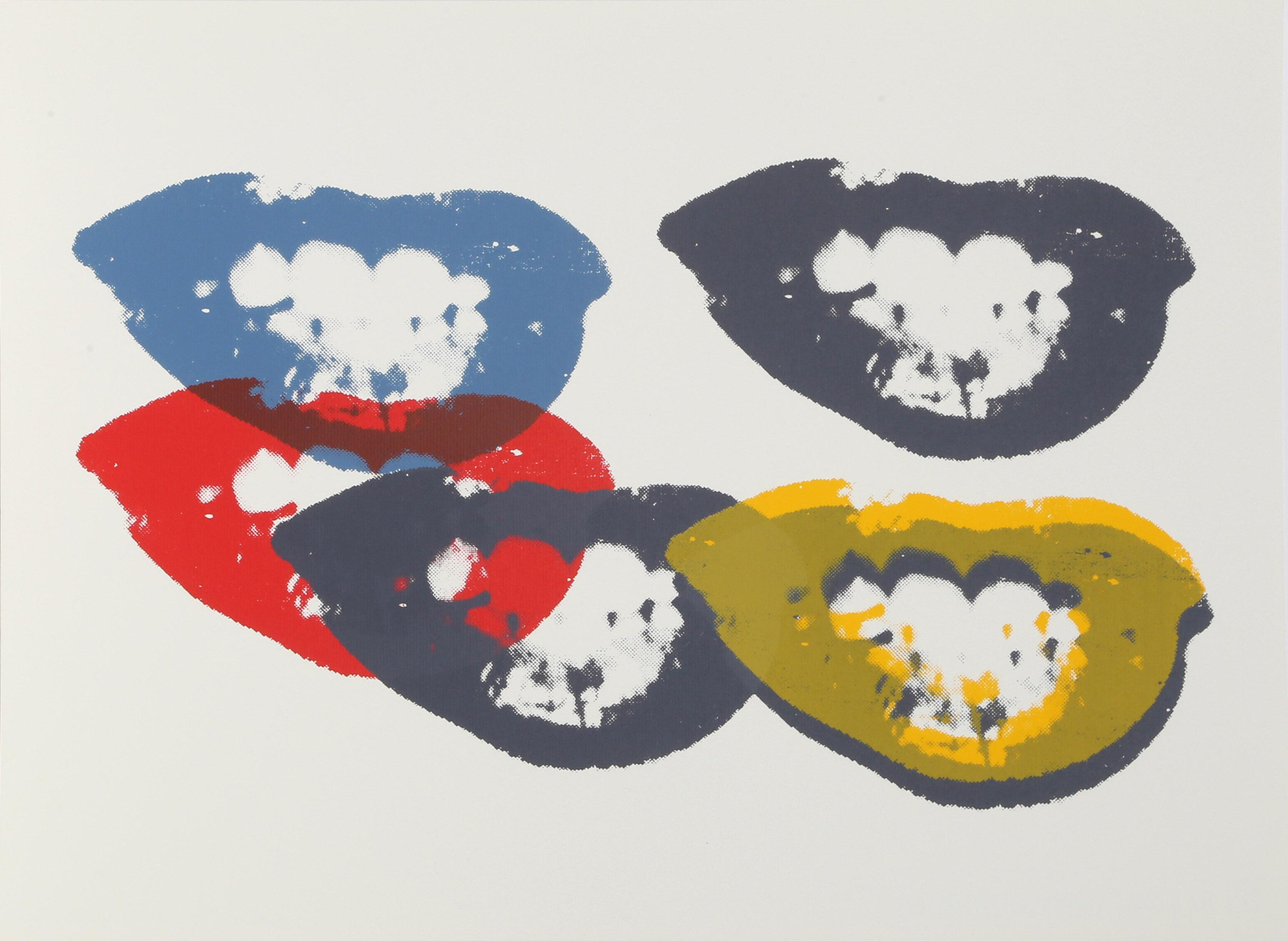 Andy Warhol, I Love your Kiss Forever Forever (Marilyn), Sunday B Morning Screenprint