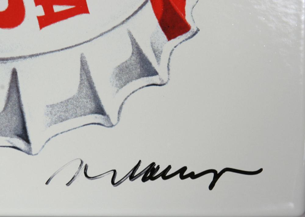 Mel Ramos, Pepsi Cola, Enamel print on Aluminum