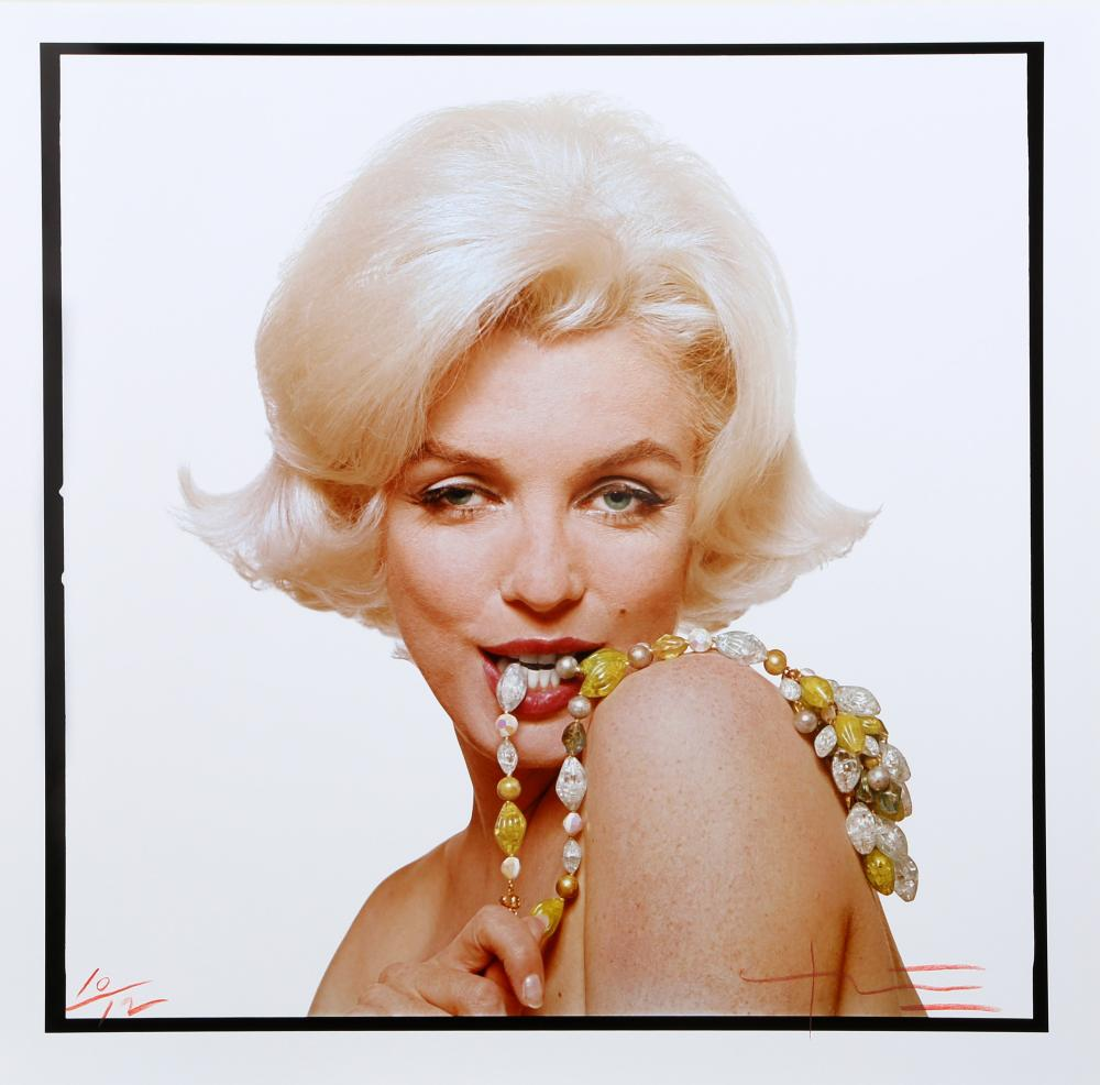 Bert Stern, Marilyn Monroe: The Last Sitting Portfolio 7, Color Photograph