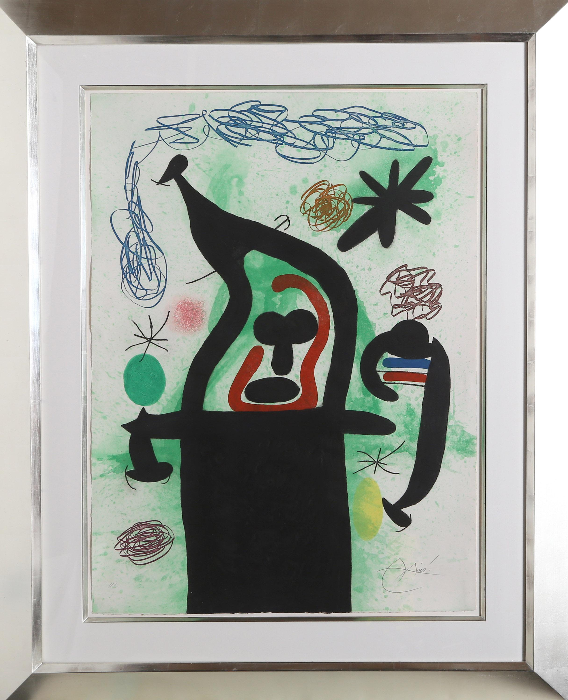 Joan Miro, La Harpie, Etching, Aquatint and Carborundum