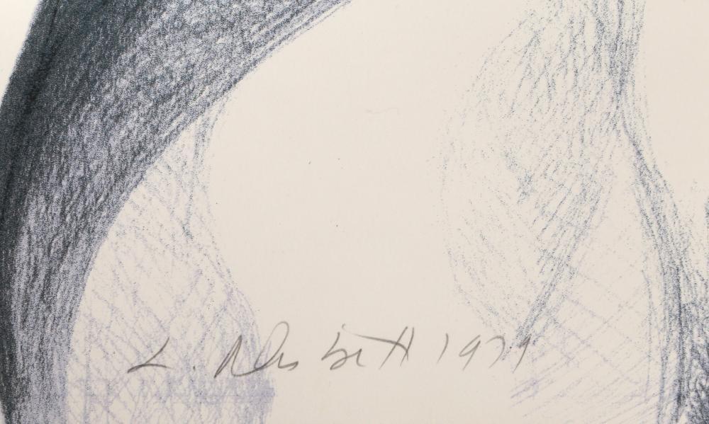Lowell Blair Nesbitt, Male Nude 3, Lithograph