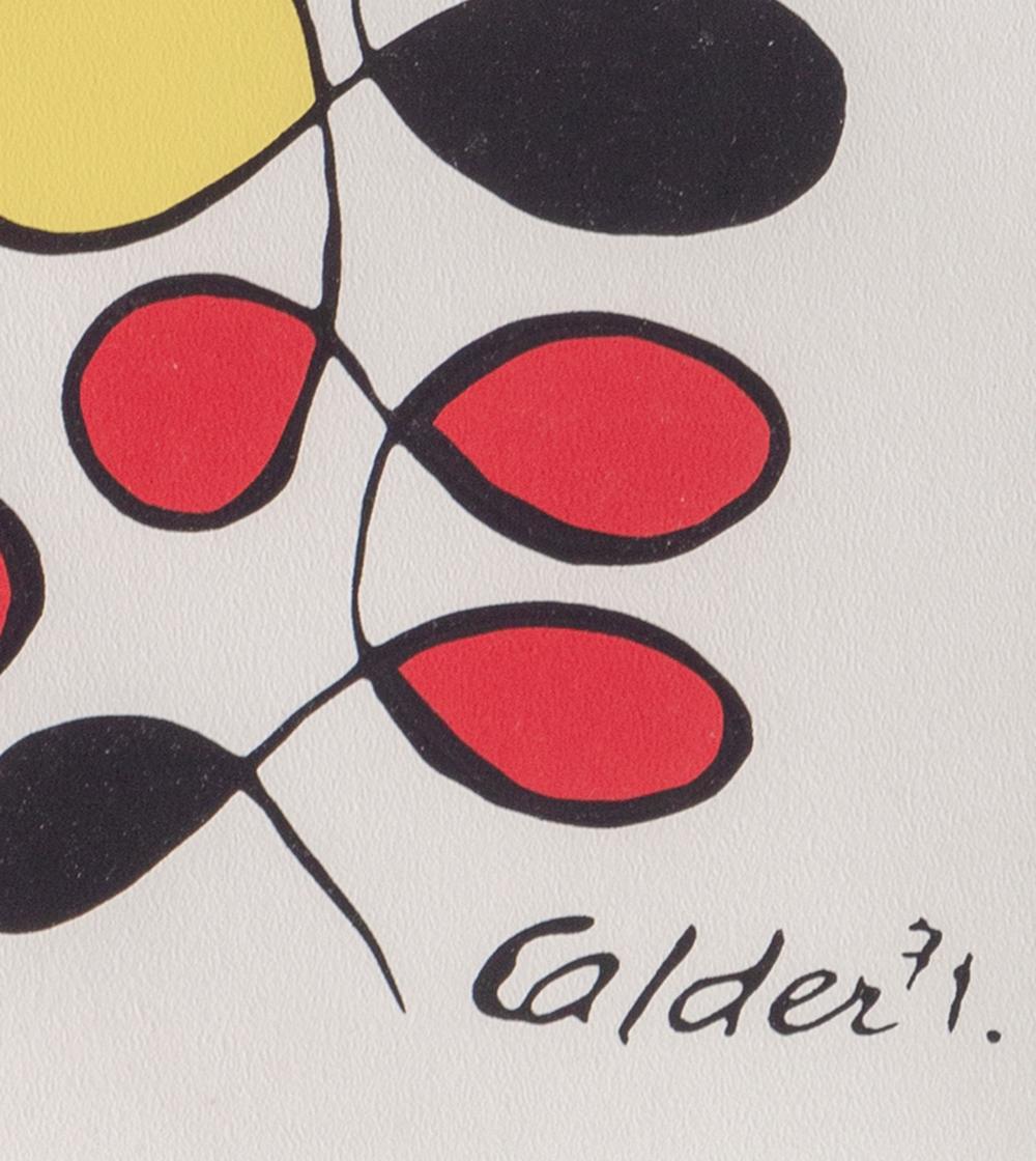 Alexander Calder, Venusiennes, Lithograph