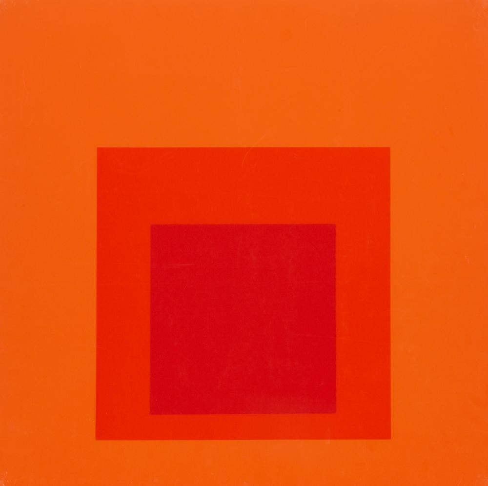 Josef Albers, Homage to the Square, Silkscreen