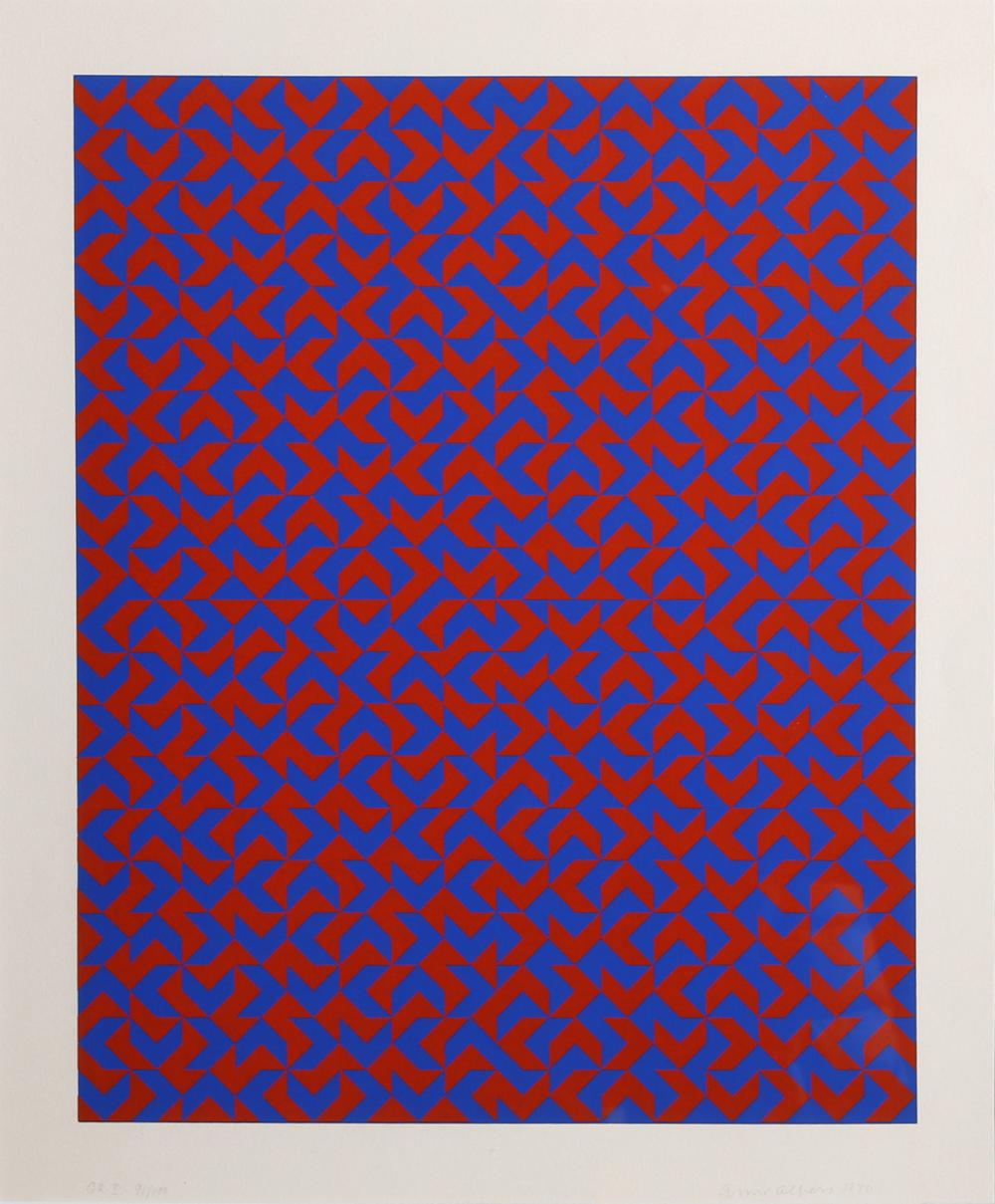 Anni Albers, GR I, Silkscreen