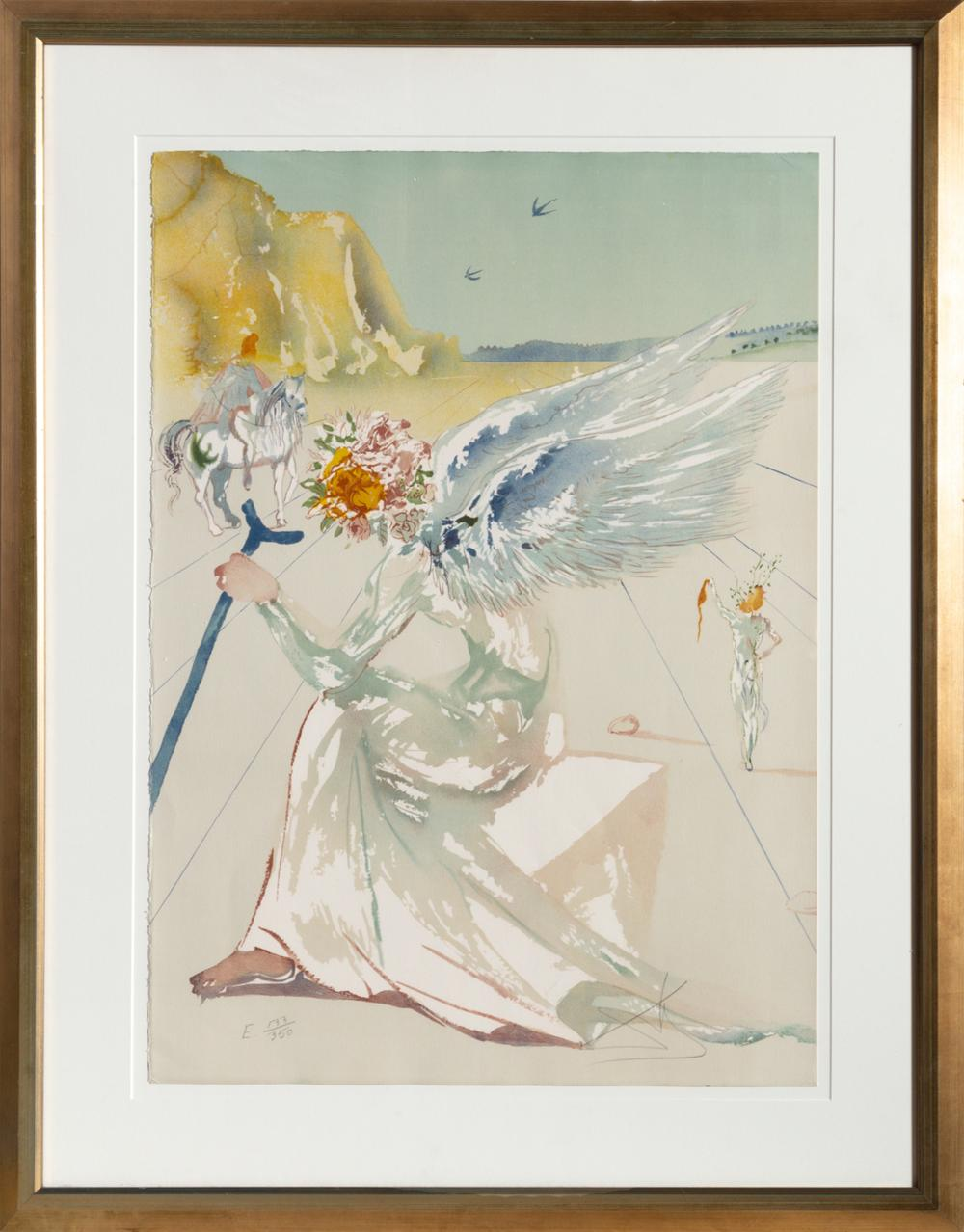 Salvador Dali, Helen of Troy, Lithograph