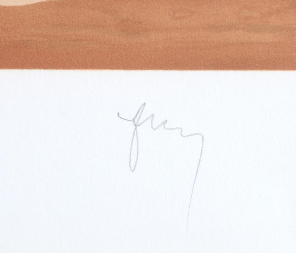 Rene Magritte, Les Claires-Voies... La Fête d'un Vieil Arbre, Lithograph