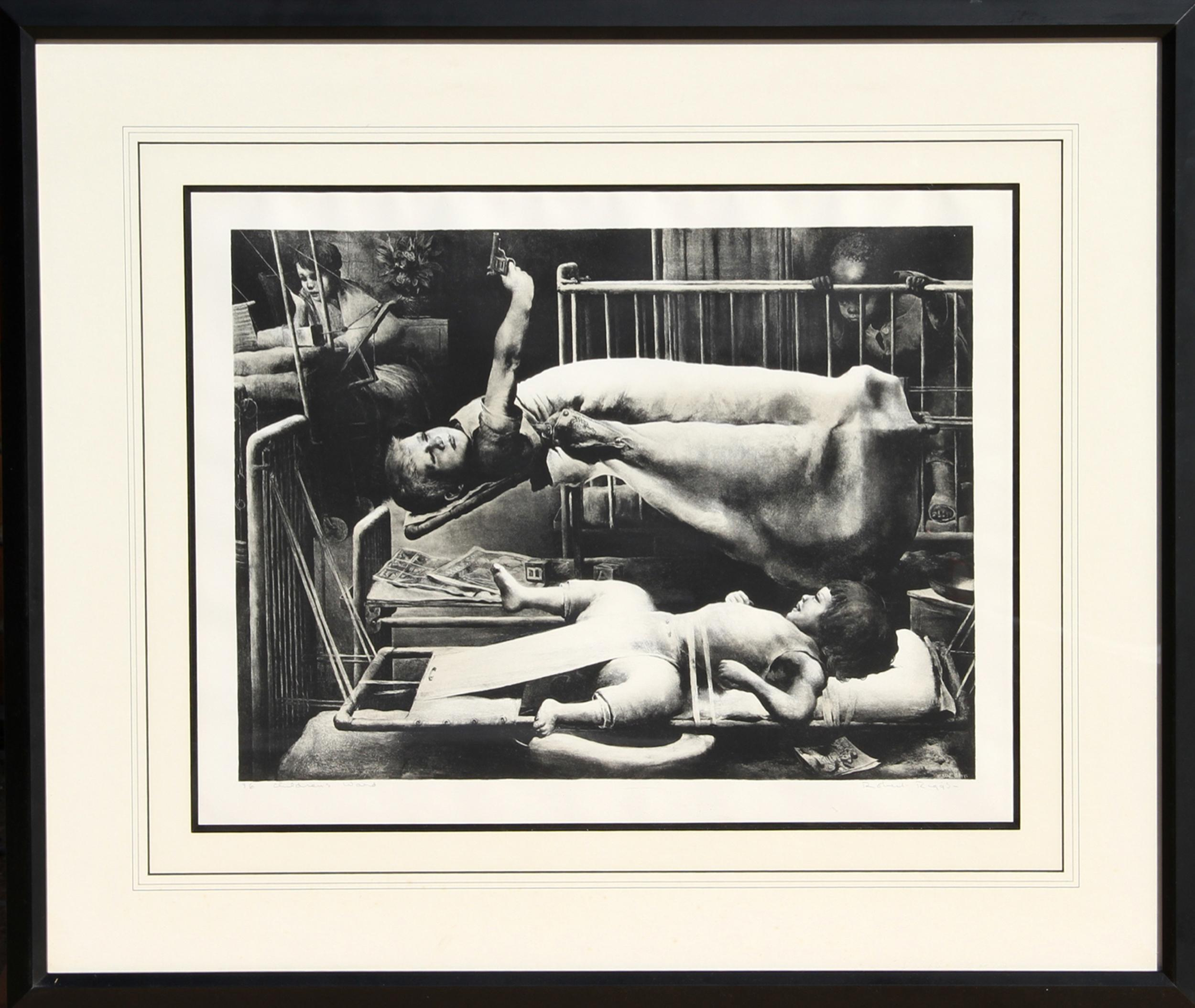 Robert Riggs, Children's Ward, Lithograph