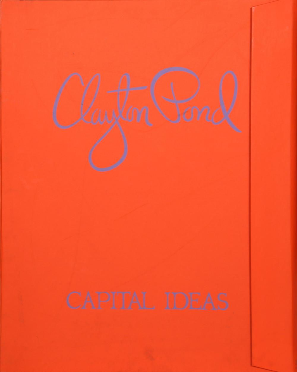 Clayton Pond, Capital Ideas Portfolio, Seven Serigraphs in Folio