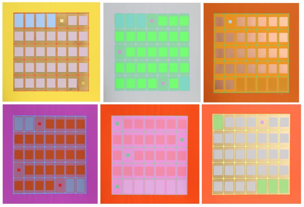 Arthur Boden, Seasons Series, Six Silkscreens