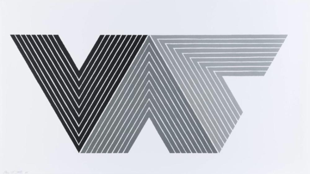 Frank Stella, Quathlamba I, Lithograph