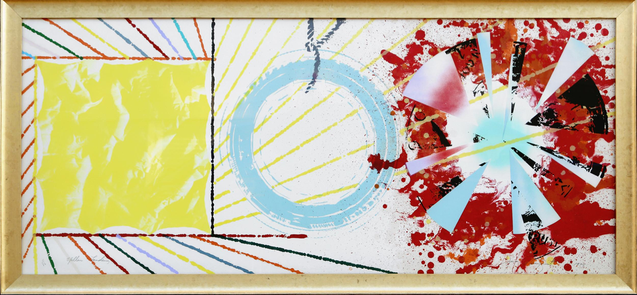 James Rosenquist, Yellow Landing, Multicolor Lithograph and Screenprint